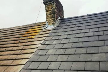 Roof Repairs around Hump